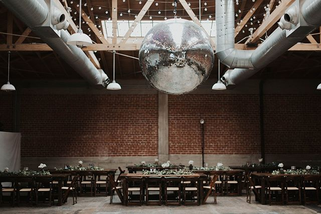 Every celebration needs a (Massive) Disco ball 😎⠀⠀⠀⠀⠀⠀⠀⠀⠀ ⠀⠀⠀⠀⠀⠀⠀⠀⠀ Venue: @sandboxvenue⠀⠀⠀⠀⠀⠀⠀⠀⠀ Photography: @taylerashleyphotography⠀⠀⠀⠀⠀⠀⠀⠀⠀ Coordination: @firstcomeslovesd ⠀⠀⠀⠀⠀⠀⠀⠀⠀ ⠀⠀⠀⠀⠀⠀⠀⠀⠀ #farmtables #weddingtables #rusticweddingtables #woodtables #rusticwedding #sdwedding #sandiegowedding #weddinginspiration #engaged #bridetobe2019 #weddingrentals #specialtyrentals #eventrentals #tablerentals #woodworking #weddingideas #farmtablerentals #bride #married #discoball #danceparty #chairs
