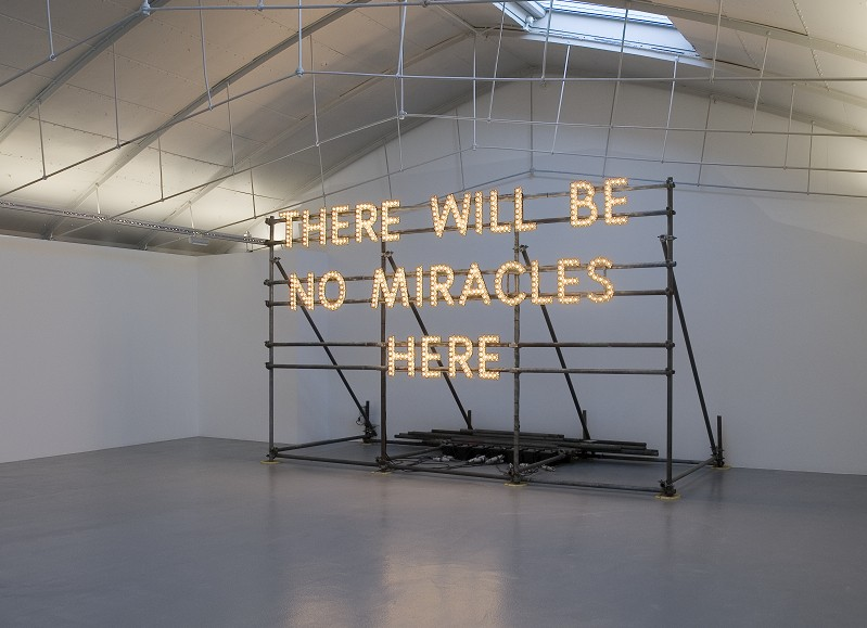 There Will Be No Miracles Here // Nathan Coley