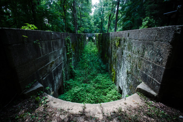 abandoned canal