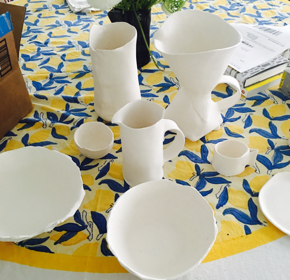 Ceramics in progress