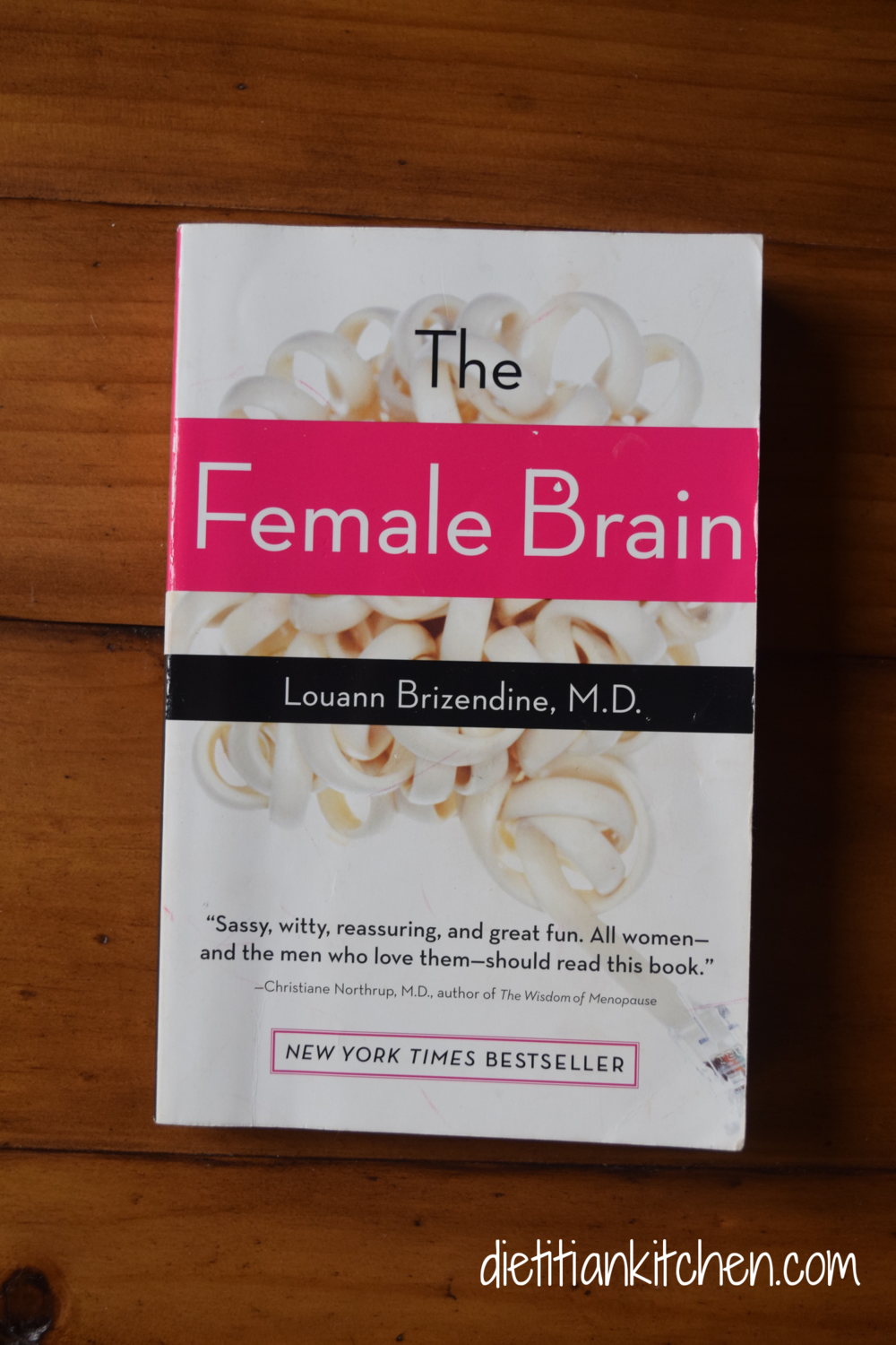A must read for every woman but even more so for men to help to better understand us! This book progresses through each life stage and details how our hormones dictate how we feel and how we make decisions.