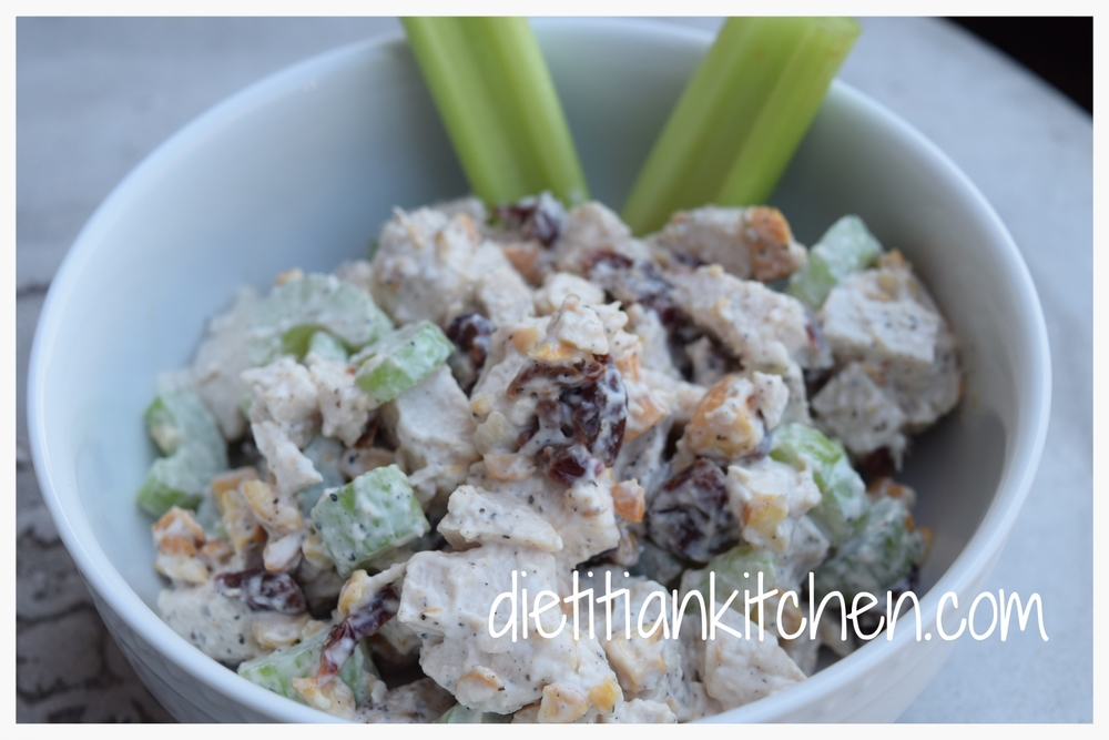 Cashew Cherry Chicken Salad
