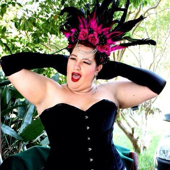 Sydney Burlesque Idol Winner 2014 - Mama La Roux  photo by Leif Cora