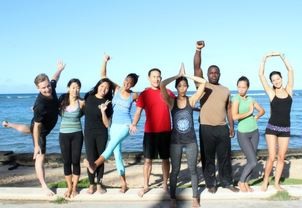 Aloha and Love from the Flo Yoga Hawaii photo shoot participants! Site photos courtesy of  Kecia Littman .