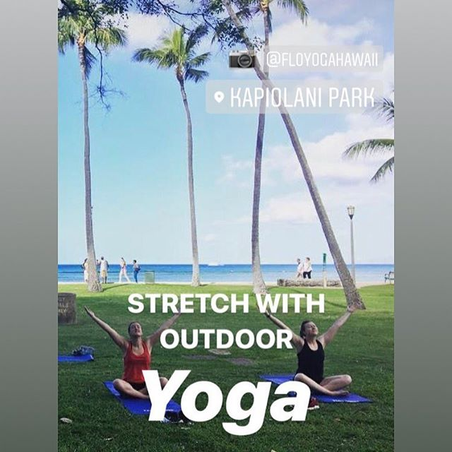 We love our @parkshorewaikiki yoga students! ❤️😊🙏🏽 . We're so lucky to practice yoga with the ocean in background and the beauty of the park surrounding us! 🌈🌴🌺 . #yoga #yogaoutdoors #yogaoutside #yogi #yogini #honolulu #waikiki #hawaii #parkshorewaikikihotel #parkshorewaikiki