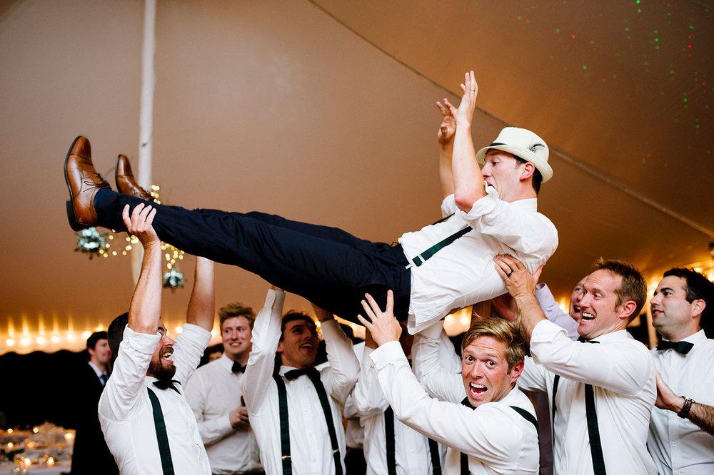 Dapper dudes at a Boston wedding