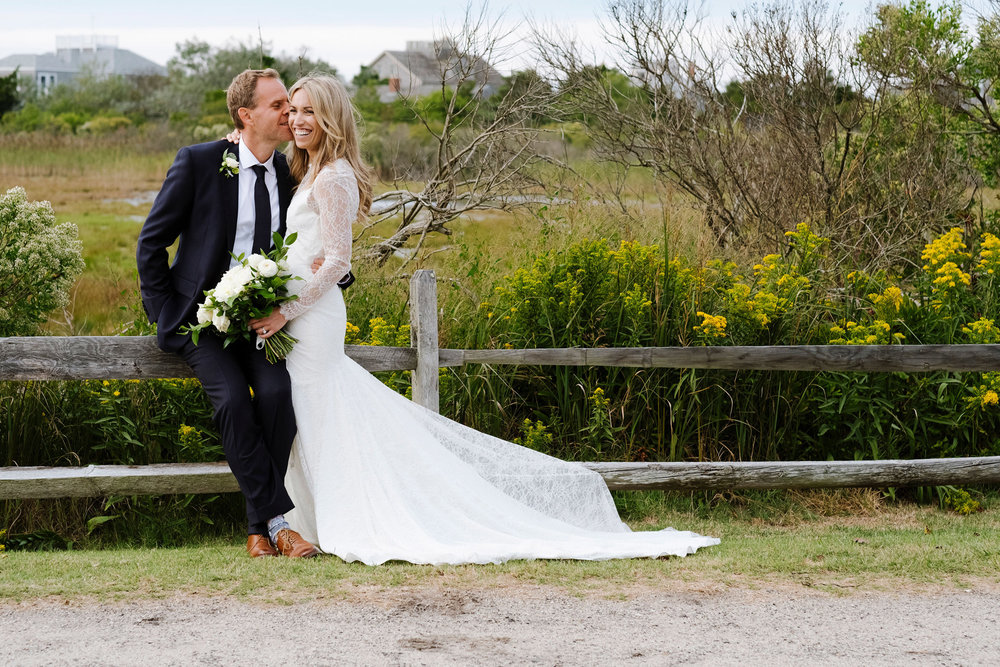 Beautiful fall wedding on the island of Nantucket