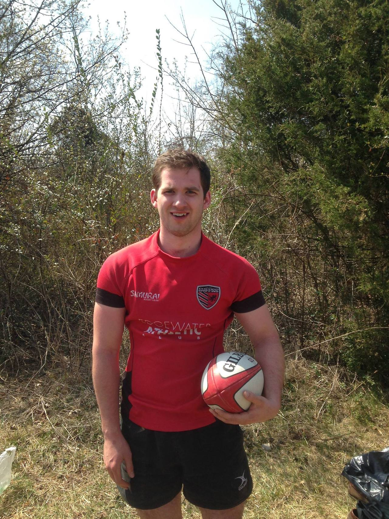 Sam, 2013 earns his first cap for the Chicago Griffins RFC Men's Div 1 side!   Congrats Sam! Go BLUE!