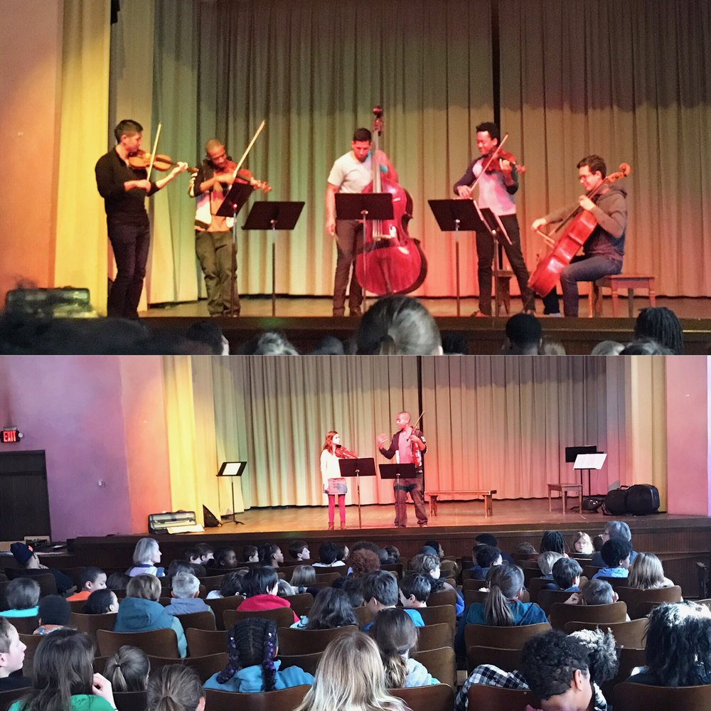 Detroit, Michigan  Concert and Masterclass at the Waldorf School of Detroit.