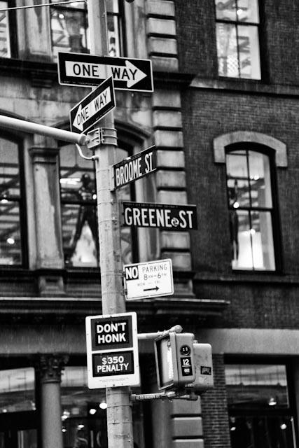 Greene Street, NY, NY ~ © 2014 Row Rubio