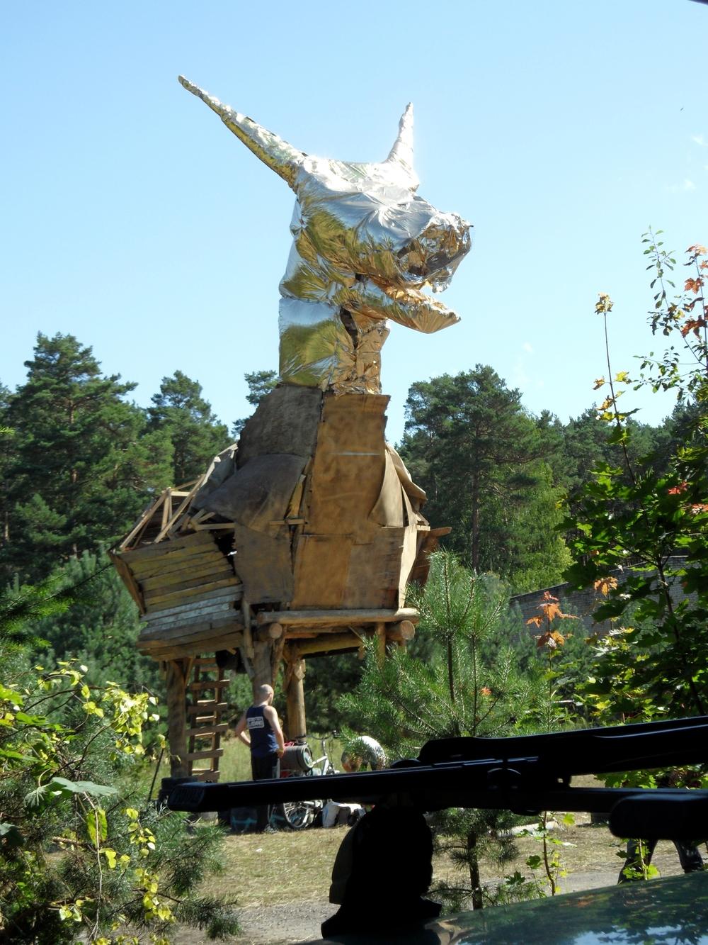 The golden Goat at Artbase 2011
