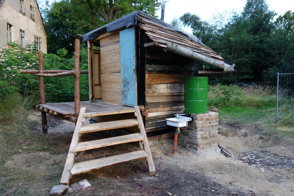 compost toilet at count down grabowsee