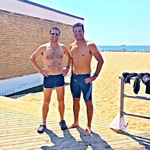 Paul and David Brighton Beach.jpg