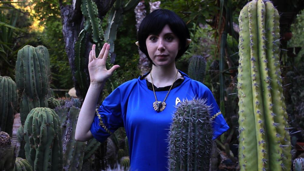 Fiona as a Vulcan
