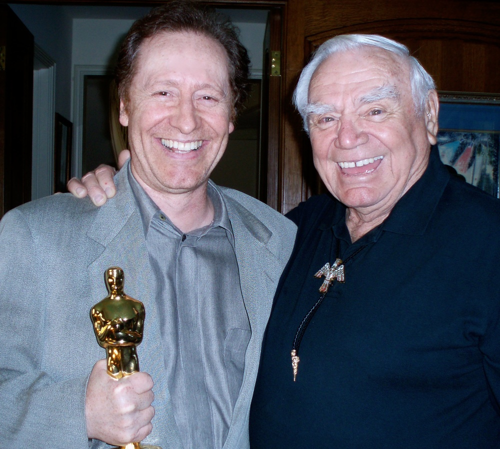 "Craig producing Ernest Borgnine his ""father"" from Award Winning special episode of ""Run For Your Life"""