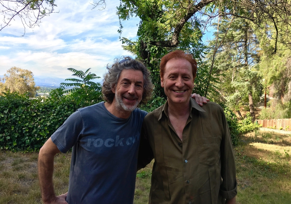 Craig with Simon Phillips, drummer of Toto. June 2016