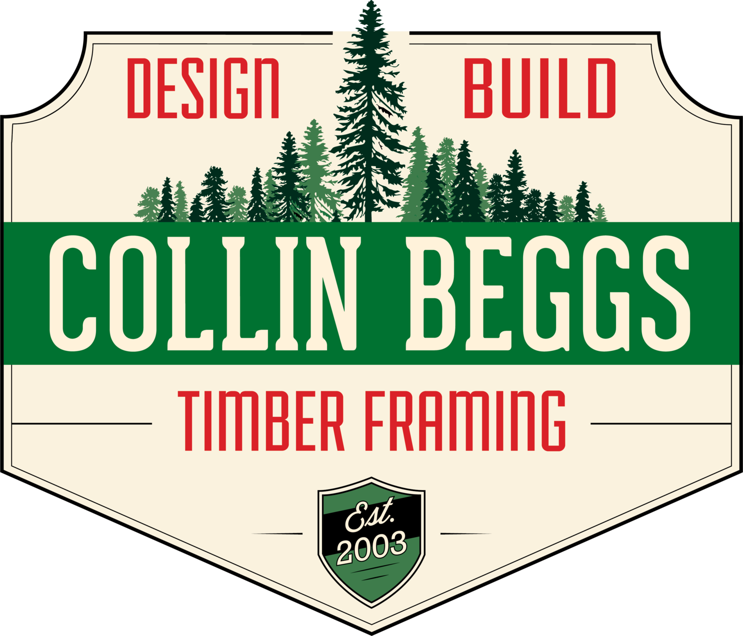 Collin Beggs Design Build Timber Framing