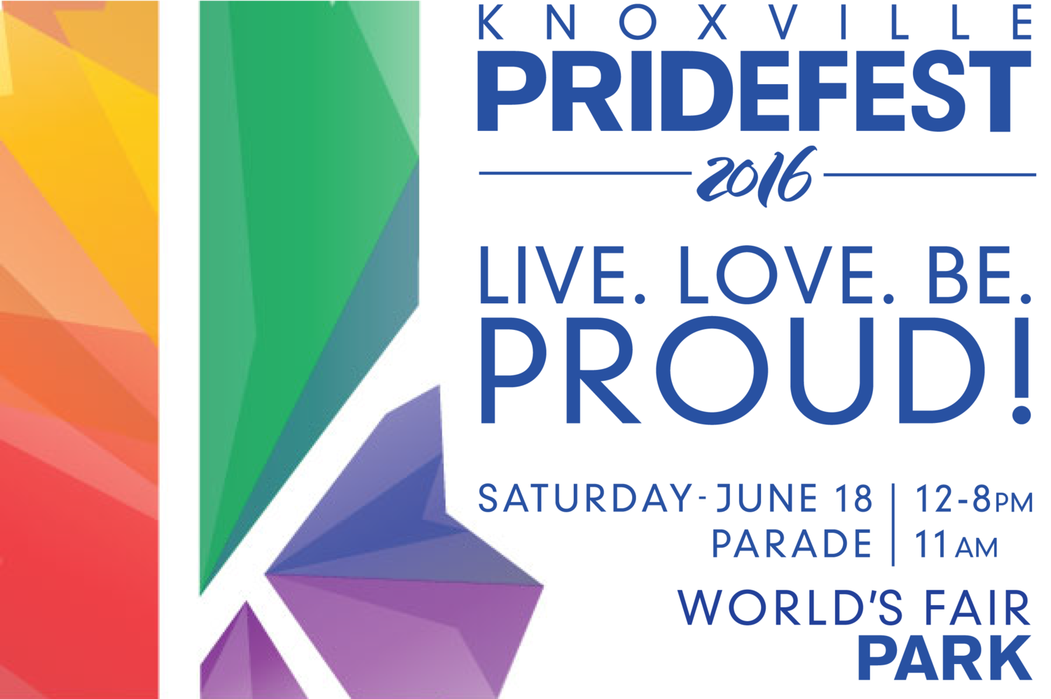 Knoxville PrideFest 2016