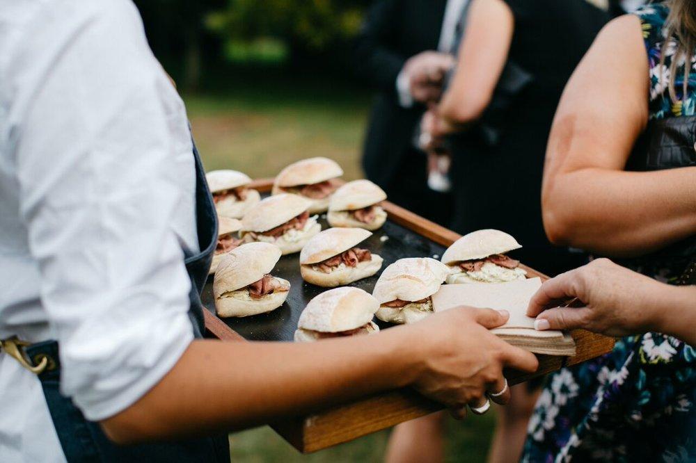 Rare Roast Beef Rolls - Amy & Donnys Wedding (Photo by Rachel Kara).jpg