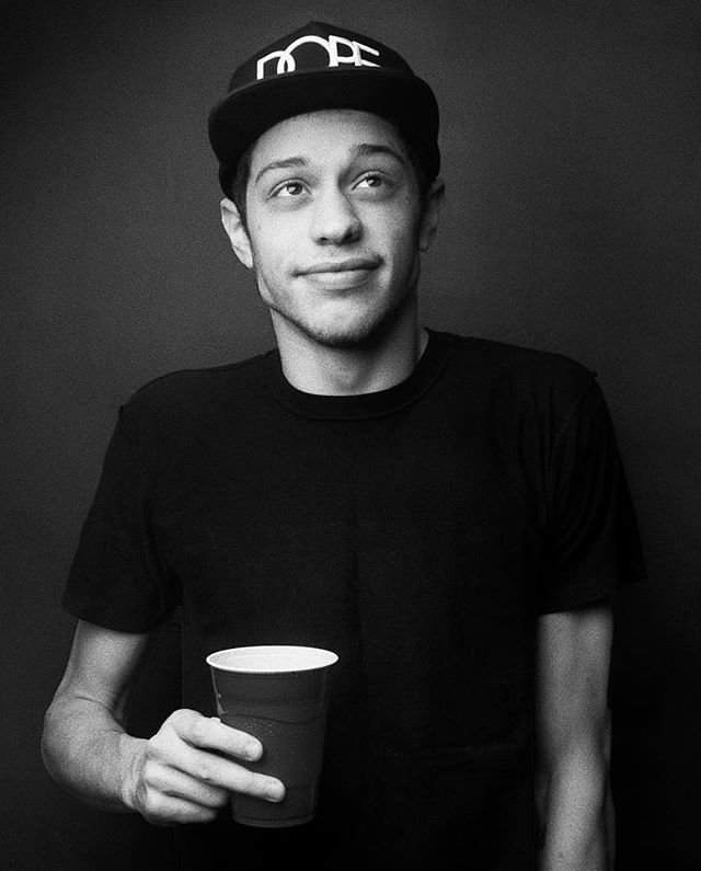 Pete Davidson at home in Brooklyn a few years ago.