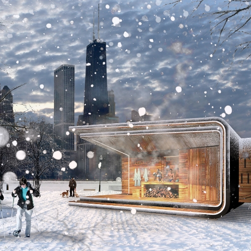 Urban Therme Lakefront Kiosks