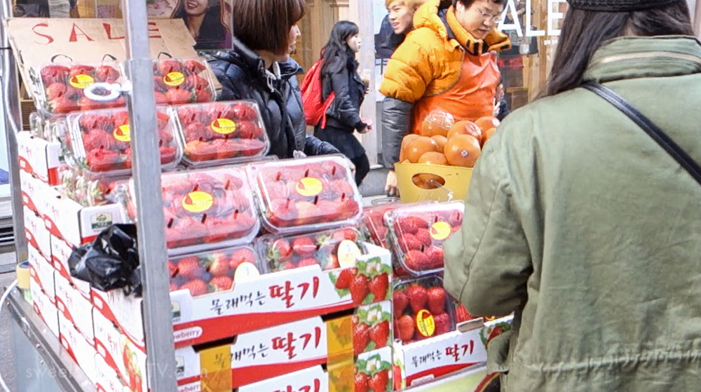 17. Fruit (i.e. strawberries) - 과일 (gwail)