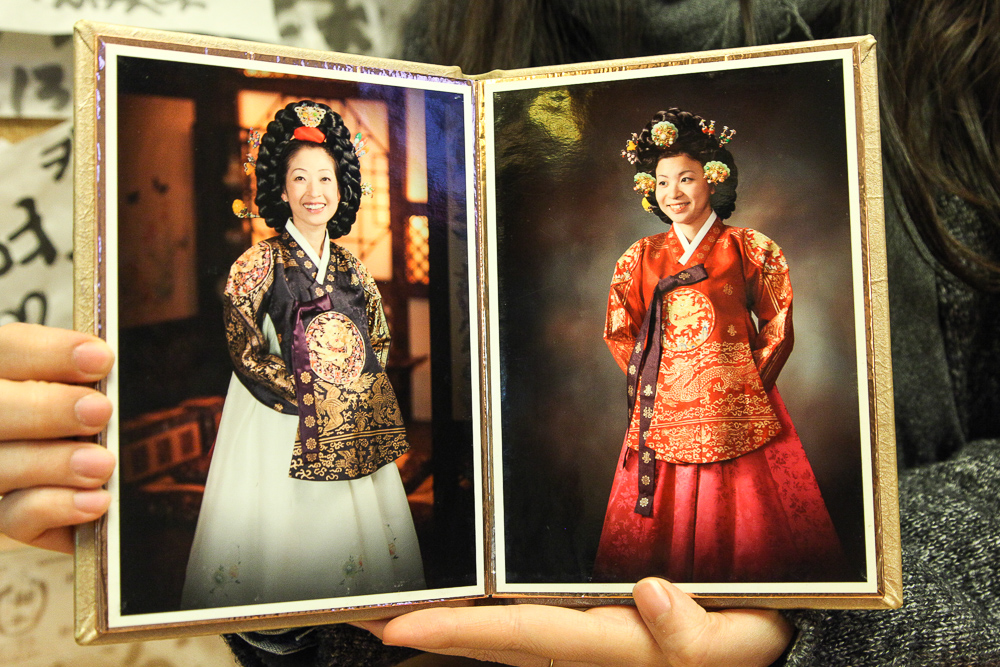 royal hanbok women