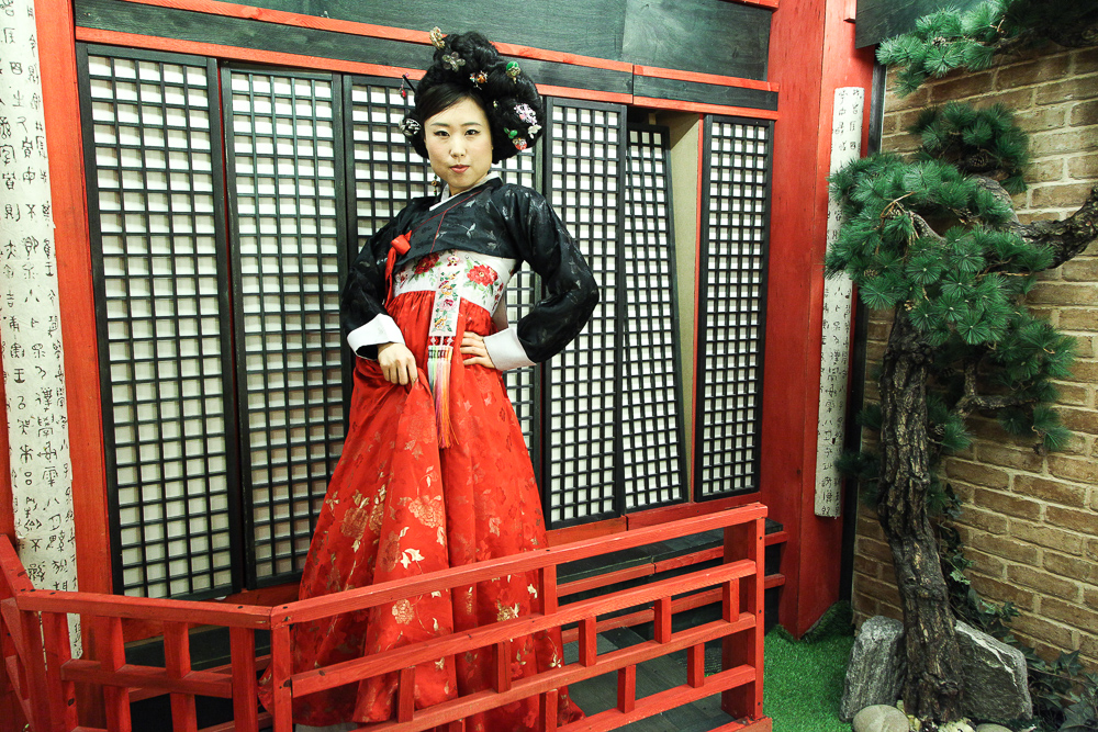 korean geisha