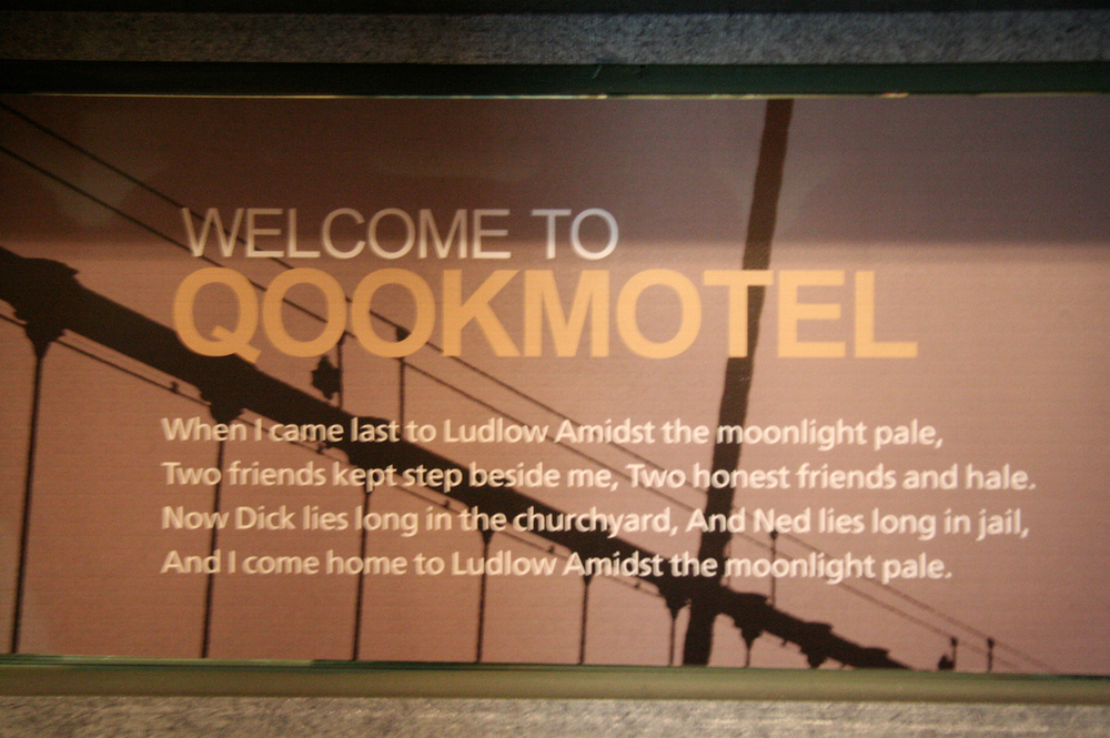 Ill fates after staying at Qookmotel. All of a sudden Hanjin Hostel starts to sound more friendly... (photo by ketuzin)