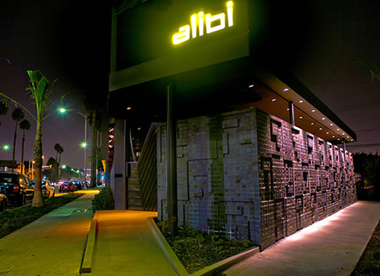 Storefront of Alibi Room (Source: Alibi Room)