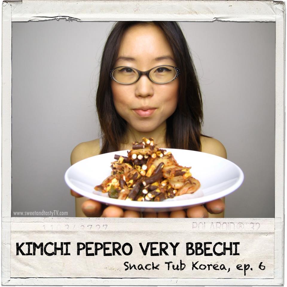 kimchi pepero snack tub korea 6