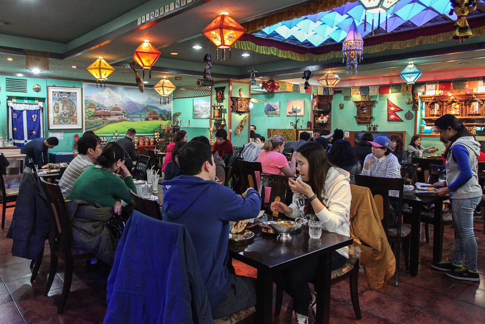 everest restaurant interior