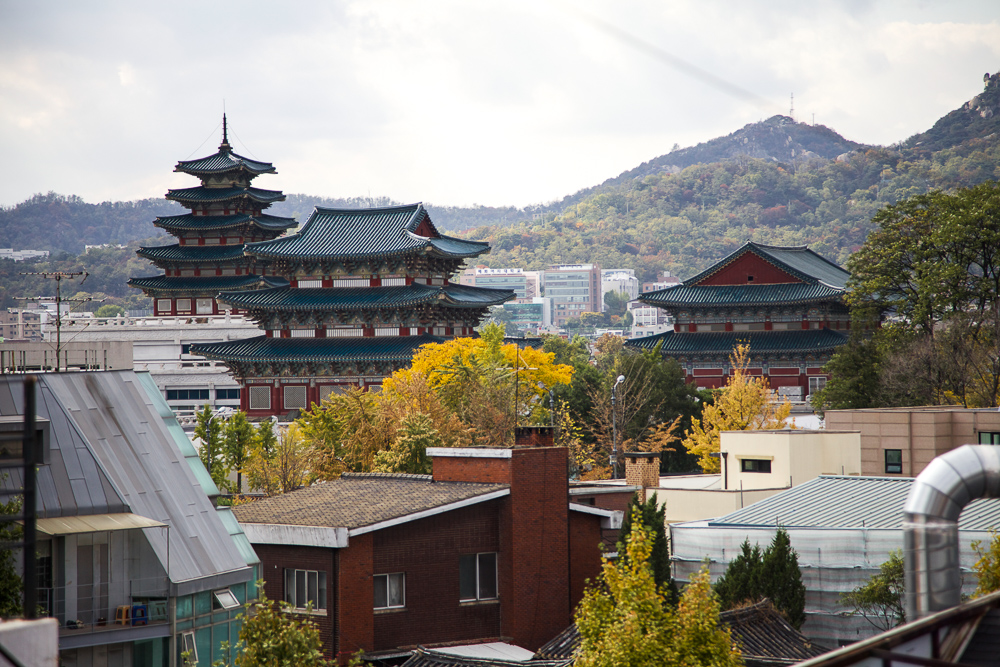 bukchon view palace