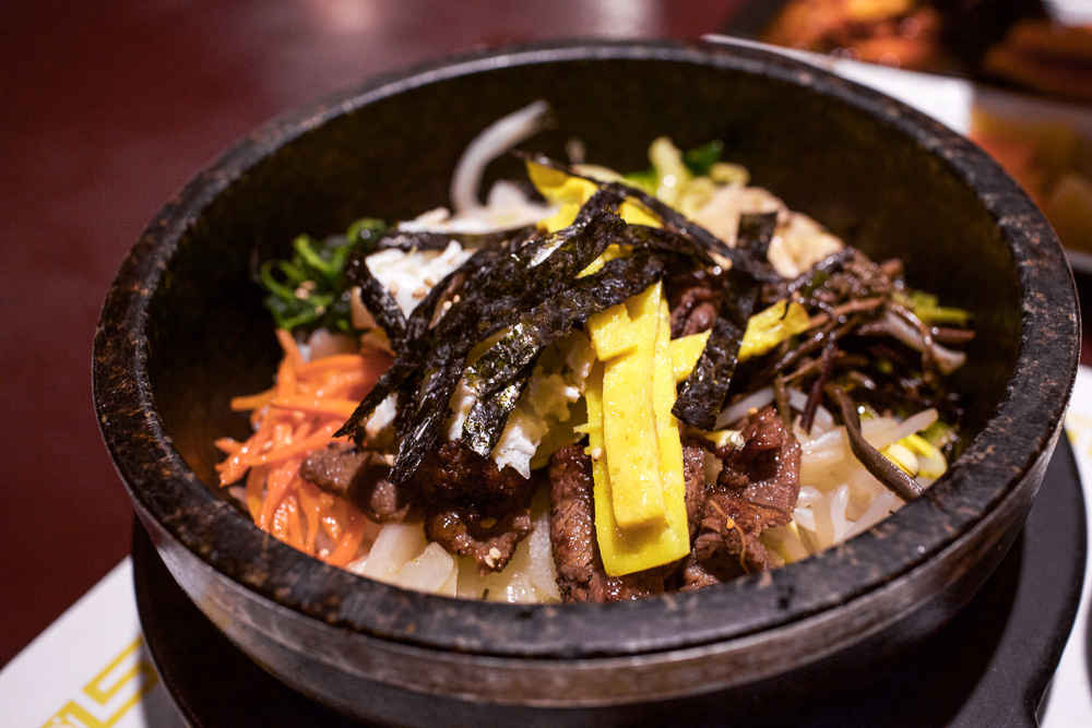 Dolsot Bibimbap. Fresh out the kitchen and in your face!