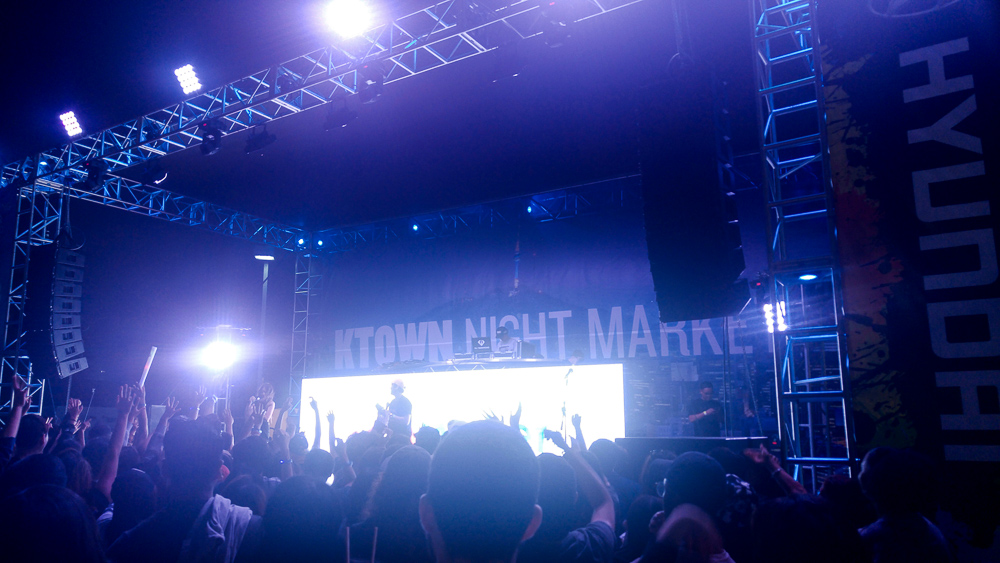 Ktown Night Market Concert