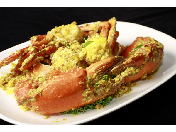 Butter Crab with Salted Egg