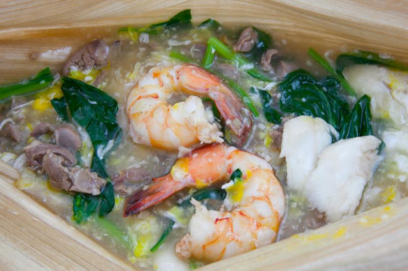 槟榔叶海鲜鸡胗河粉 Betel Leaf Seafood Chicken Stomach Hor Fun