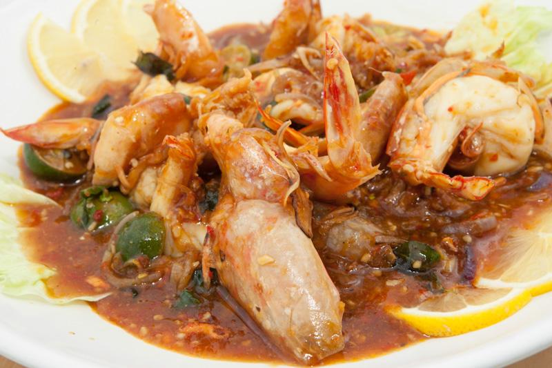 古法酸辣红脚大虾 Sour & Spicy Prawn
