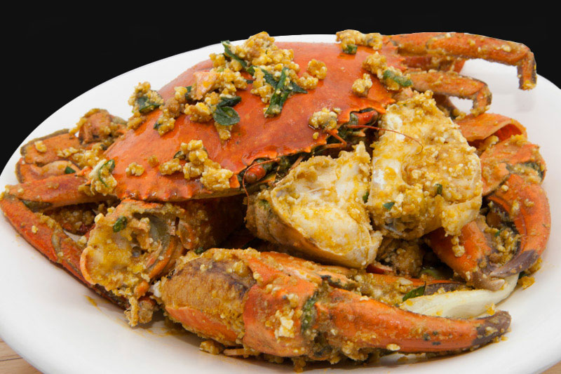 金黄奶油螃蟹 Butter Crab with Salted Egg