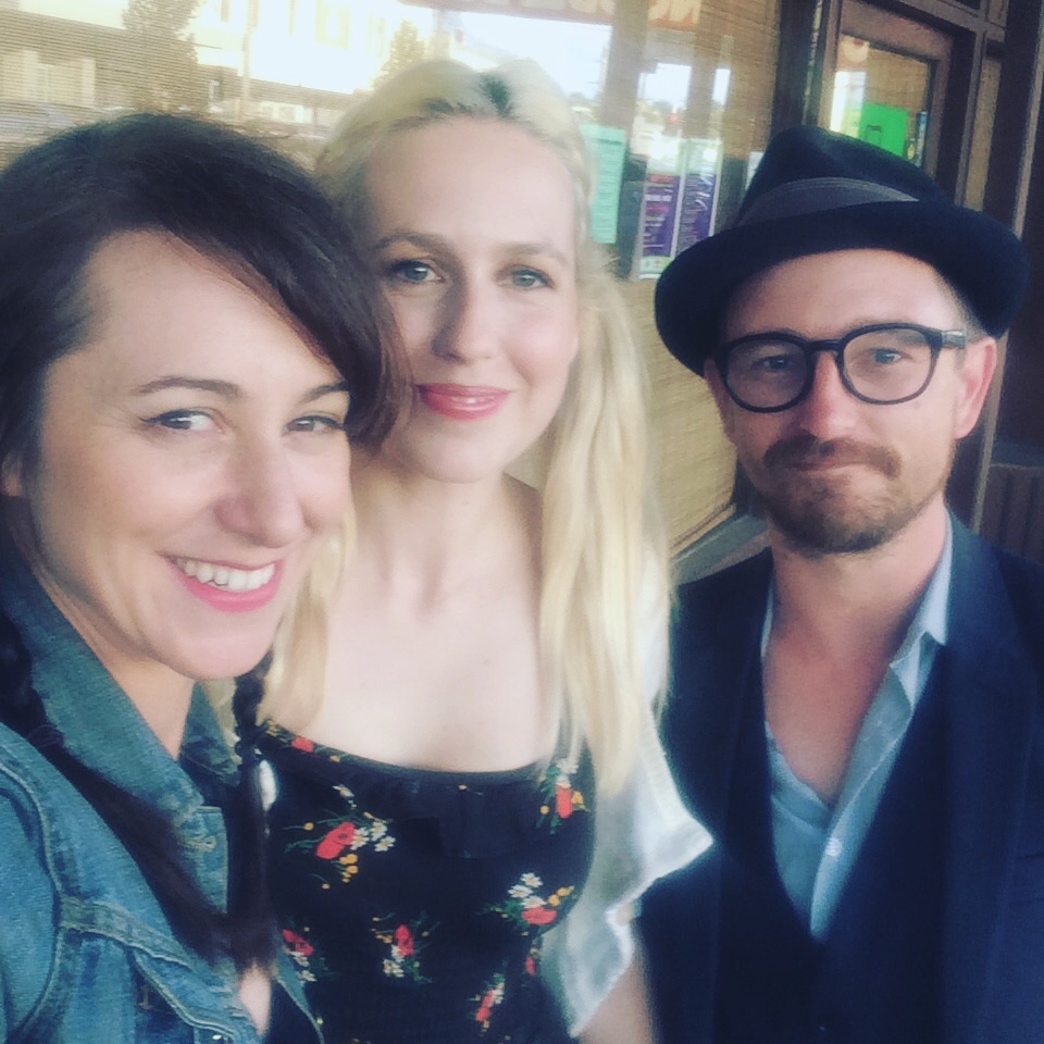 Two fine humans and songwriter- muso's I recommend you check out: Freya Hollick and Joshua Seymor!