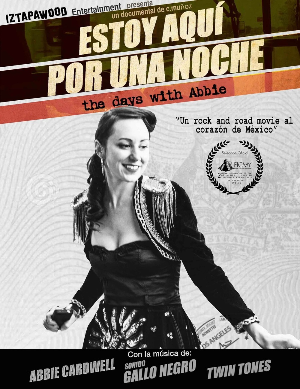 The NEW Mexican film is out Overseas! OMG!!!