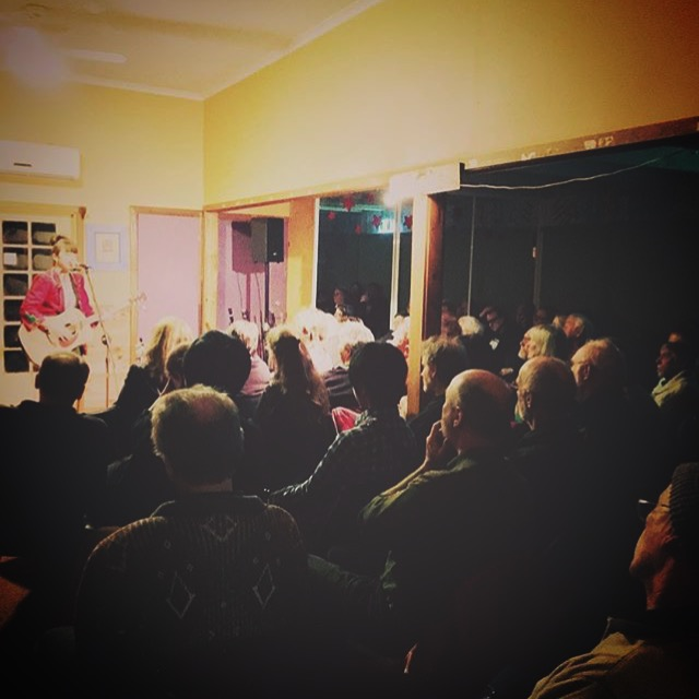A Packed House at Selby Folk Club