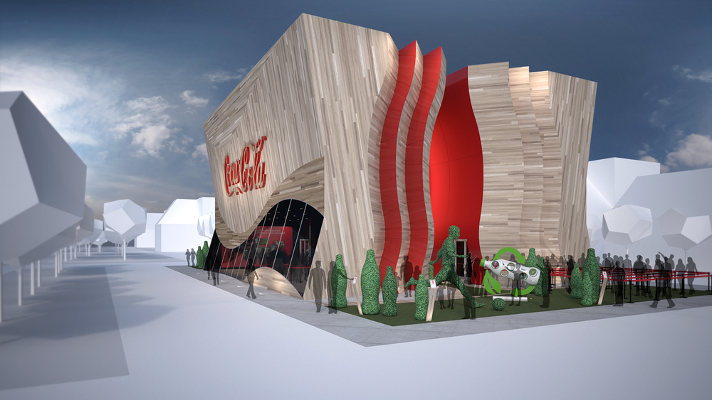 exhibit design  /  COCA-COLA MILAN0 2015