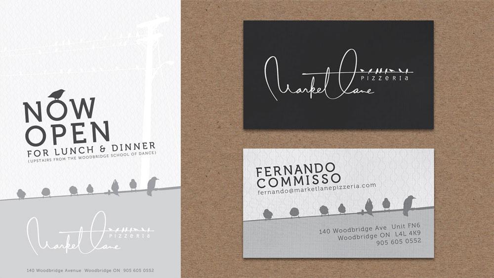 brand design  /  MARKET LANE pizzeria