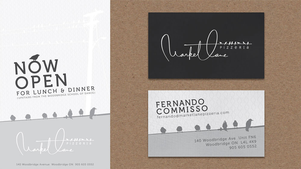 brand design  /  MARKET LANE pizzeria