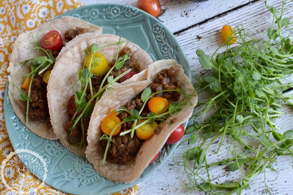 crockpot lentil tacos