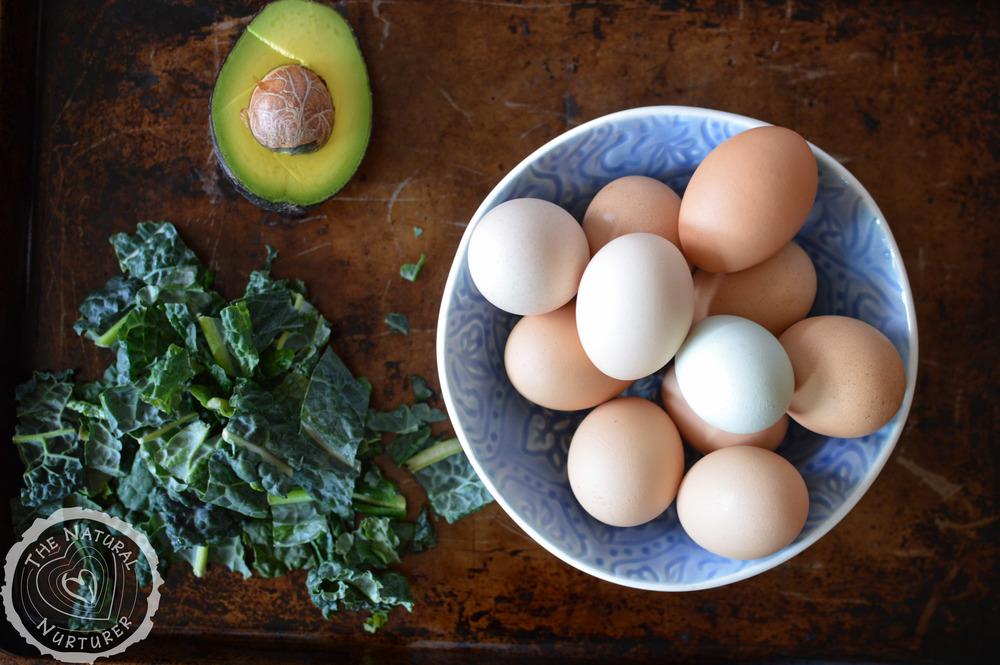 Green Veggie Eggs