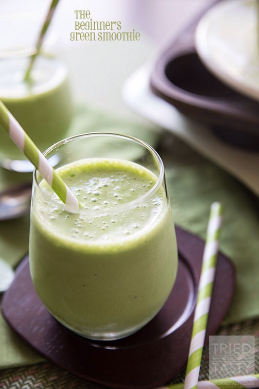 The Begginers Green Smoothie