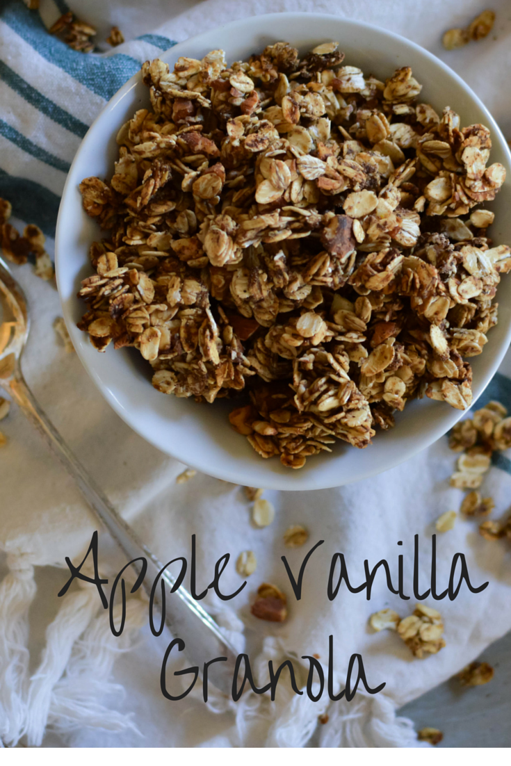 Apple Vanilla Granola