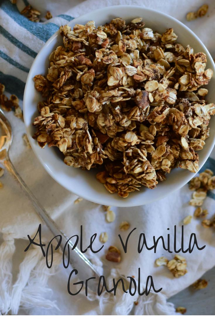 Apple Vanilla Granola